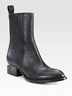 Alexander Wang - Chelsea Leather Ankle Boots