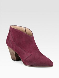 Belle by Sigerson Morrison - Yoko Nubuck Leather Ankle Boots