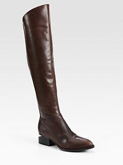 Alexander Wang - Sigrid Leather Knee-High Boots