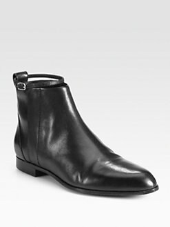 Alexander Wang - Angela Leather Ankle Boots