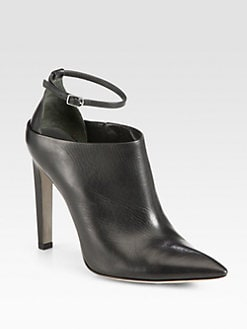 Alexander Wang - Audrey Leather Ankle Boots