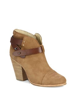 Rag & Bone - Harrow Suede Ankle Boots