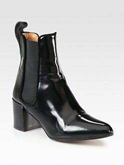 Acne - Free Leather Ankle Boots