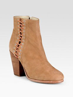 Rag & Bone - Lilian Leather Ankle Boot