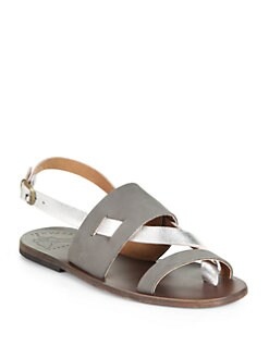 Ishvara - Mallorca Metallic Leather Sandals