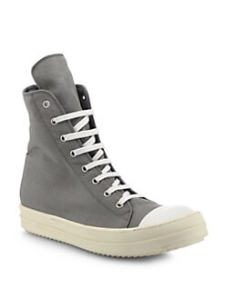 Rick Owens DRKSHDW - Ramones High-Top Sneakers