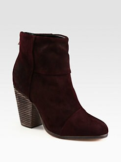 Rag & Bone - Classic Newbury Suede Ankle Boots