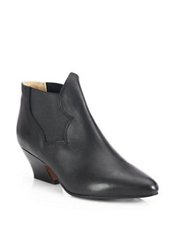 Acne - Alma Leather Ankle Boots