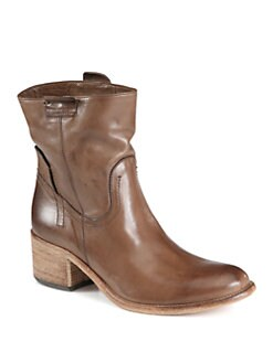 Alberto Fermani - San Giorgio Leather Western Boots