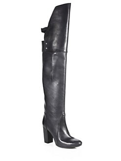 3.1 Phillip Lim - Ora Leather Over-The-Knee Boots