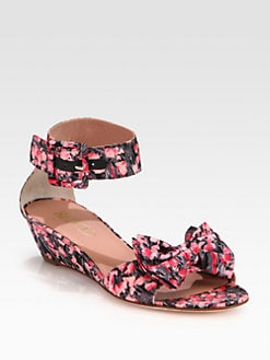 RED Valentino - Lily of the Valley Bow Sandals