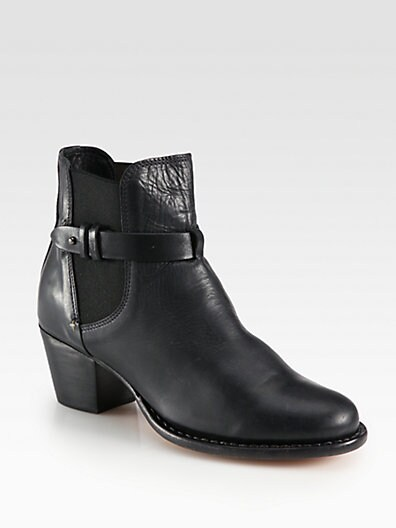Durham Leather Ankle Boots