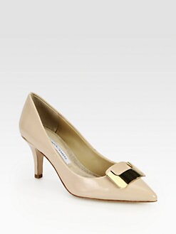 Diane von Furstenberg - Adara Patent Leather Pumps