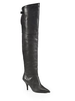 3.1 Phillip Lim - Kitty Leather Over-The-Knee Boots
