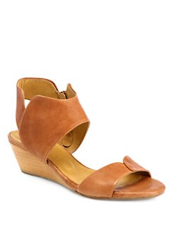 Coclico - Kinu Leather Low-Wedge Sandals