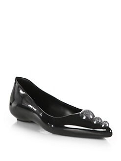 Melissa - Karl Lagerfeld Point-Toe Ballet Flats