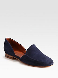 Rachel Comey - Boyer Suede Smoking Slippers