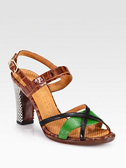 Chie Mihara - Tibitibao Leather Sandals