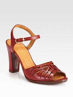 Chie Mihara - Twsited Leather Sandals