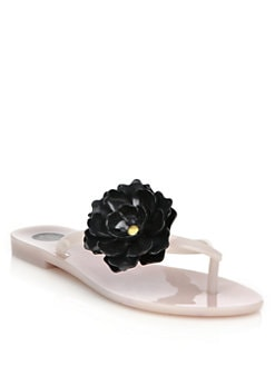 Melissa - Harmonic Flower Flip Flop Sandals