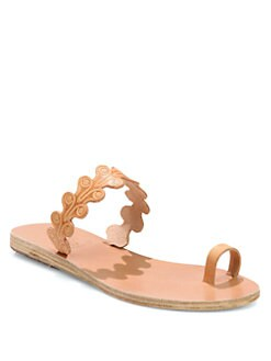 Ancient Greek Sandals - Arethousa Leather Sandals