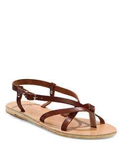 Ancient Greek Sandals - Semele Strappy Leather Sandals