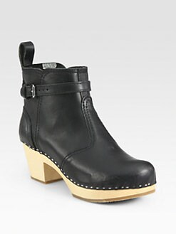 swedish hasbeens - Seam-Detailed Ankle Boots