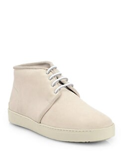Rag & Bone - Kent Suede Lace-Up Desert Sneakers