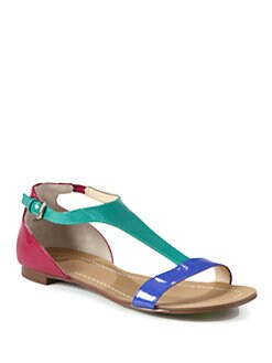 Boutique 9 - Piraya Colorblock Patent Leather Sandals