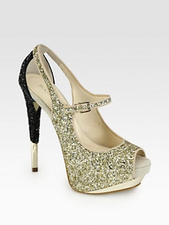 Boutique 9 - Nickeya Glitter Mary Jane Pumps