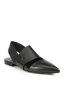 Alexander Wang - Irene Leather Slingback Sandals