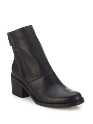 The Cave Leather Side-Zip Boots