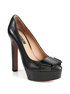 Rachel Zoe - Jesse Leather Platform Pumps
