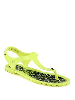 Marc by Marc Jacobs - Studded Jelly Thong Sandals