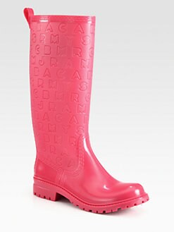 Marc by Marc Jacobs - Logo-Embossed Tall Rain Boots