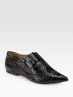 3.1 Phillip Lim - Nancy Patent Leather Laceless Oxfords