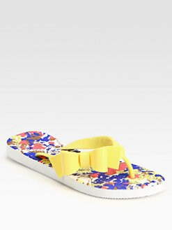 RED Valentino - Jelly Bow Flip Flops