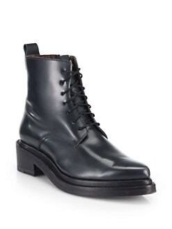 Acne Studios - Linden Leather Combat Boots