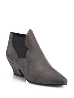 Acne Studios - Alma Antique Suede Ankle Boots