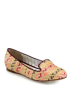 Vera Wang Lavender Label - Hurley Woven Smoking Slippers