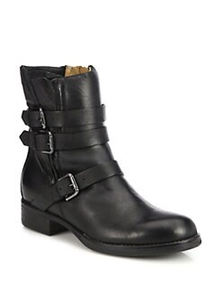Alberto Fermani - Triumvirate Leather Buckle Boots