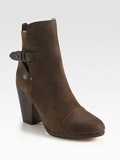 Rag & Bone - Kinsey Nubuck Leather Ankle Boots