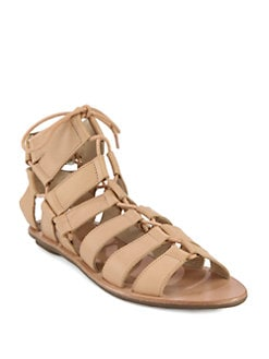Loeffler Randall - Skye Leather Gladiator Sandals