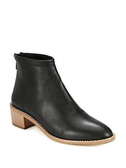 Loeffler Randall - Felix Leather Ankle Boots