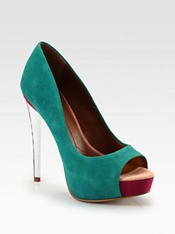 Boutique 9 - Claudius Suede Platform Pumps