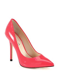 Boutique 9 - Justine Neon Patent Leather Pumps