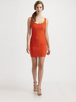 Fuzzi - Zigzag Crocheted Dress