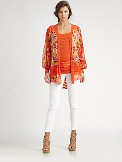 Fuzzi - Floral Cardigan