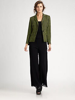 Fuzzi - Chevron Blazer