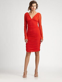 Fuzzi - Ruched Dress